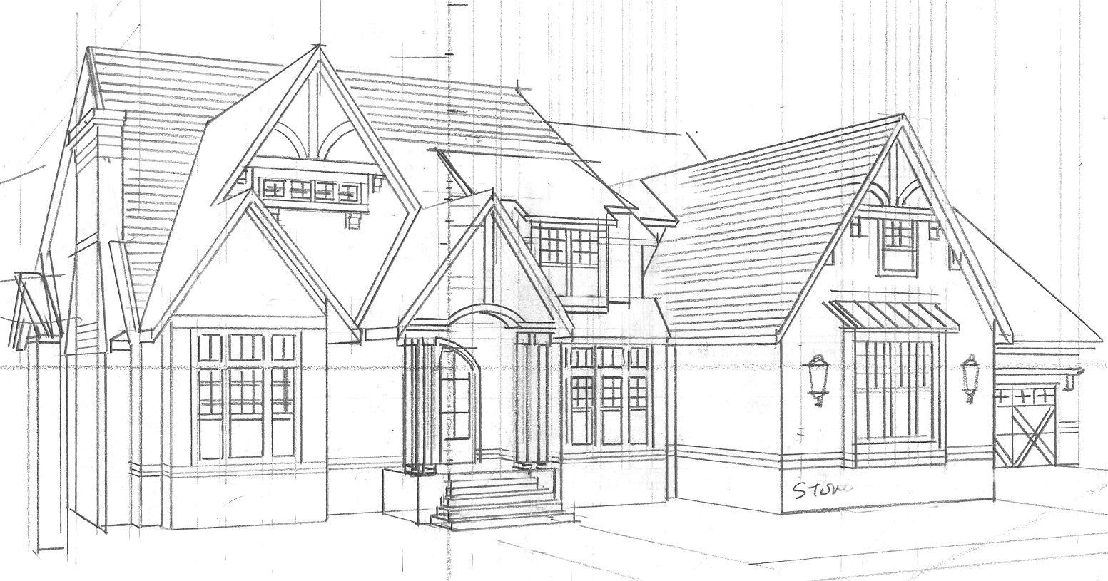 House plan sketch for Sketch house plans free