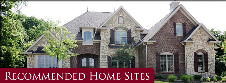 Indianapolis home builders Recommended Home Sites